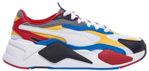 Puma  RS-X 3 Puzzle White Yellow Black (GS) Puma White/Spectra Yellow-Puma Black (372357-04)