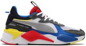 Puma  RS-X Toys White Puma White/Puma Royal-High Risk Red (369449-02)
