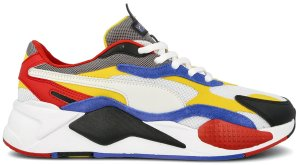 Puma  RS-X3 Puzzle White Yellow Puma White/Spectra Yellow (371570-04)