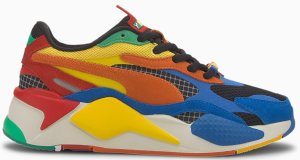 Puma  RS-X3 Rubik's Cube (GS) Palace Blue/High Risk Red (374028-01)