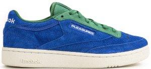 Reebok  Club C 85 Pleasures Vital Blue/Green-Chalk-White (DV9908)
