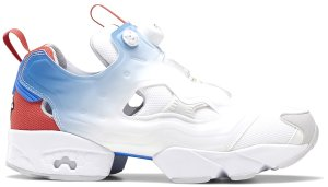 Reebok  Instapump Fury Fading Tri-Color White White/Humble Blue-Sterling Grey (EH3255)