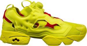 Reebok  Instapump Fury Packer Shoes OG Division Hyper Green Hyper Green/Red (AR3497)