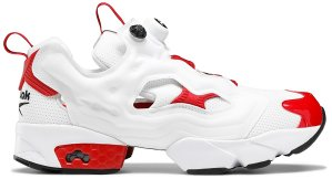 Reebok  Instapump Fury White Excellent Red White/Excellent Red-Black (FV0418)