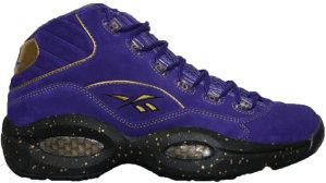 Reebok  Question MID Team Purple Black Gold Team Purple/Black/Gold (4-245714)