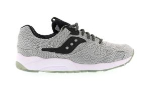 Saucony  Grid 9000 Dirty Snow Black/White (70249-1)