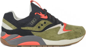 "Saucony  Grid 9000 UBIQ ""Dirty Martini"" Green/Black (70131-1)"