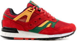 "Saucony  Grid SD Packer Shoes Just Blaze ""Casino"" Red/Green-Gold (S70266-1)"