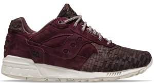 Saucony  Shadow 5000 Bricks Maroon/White (S70339-1)