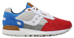 Saucony  Shadow 5000 Sneakers76 the Legend of God Taras Red/Grey/Blue (S70341-1)