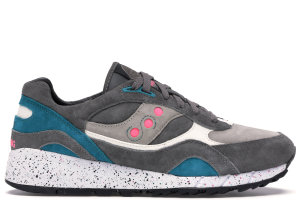 Saucony  Shadow 6000 Offspring Running Since 96 Grey Grey/Green-Pink (70141-2)