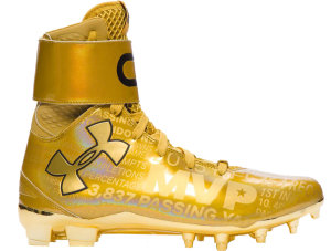 Under Armour UA C1N Cleats MVP  (Unsigned) Gold Rush/Black (1297139-795)