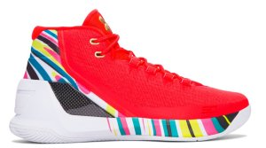 Under Armour UA Curry 3 Chinese New Year Rocket Red/Aluminum/Black (1269279-984)