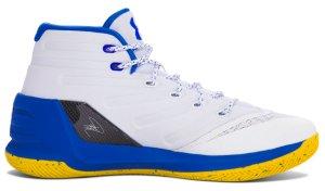 Under Armour UA Curry 3 Dub Nation Home White/Ultra Blue (1269279-102)