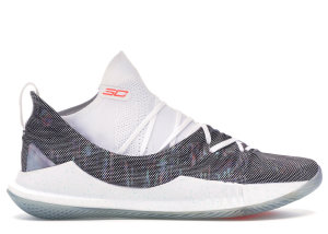 Under Armour  Curry 5 Welcome Home White/White-Neon Coral (3020657-107)