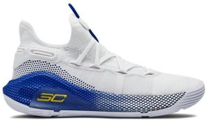 Under Armour  Curry 6 Dub Nation White/Royal-White (3020612-103)
