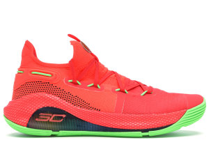 Under Armour  Curry 6 Roaracle Rocket Red/Electricity-Black (3020612-607)