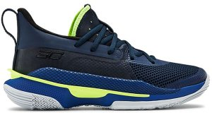 Under Armour  Curry 7 Dub Nation (GS) Royal/Academy-Hi Vis Yellow (3022113-405)