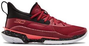Under Armour  Curry 7 Red Cordova (GS) Red Cordova/Black-Beta Red (3022113-605)