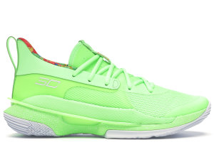 Under Armour  Curry 7 Sour Patch Kids Lime Lime/White (3021258 302)