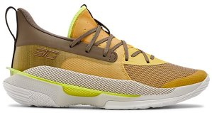 Under Armour  Curry 7 Zeppelin Yellow Zeppelin Yellow/Summit White-Mountain Brown (3021258-701)