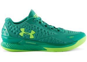 Under Armour UA Curry 1 Low Golf Scratch Green/Lime Green (1269048-387)