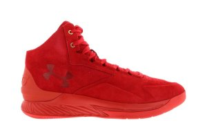 Under Armour UA Curry 1 Lux Red Red/Red-Red (1298701-600)
