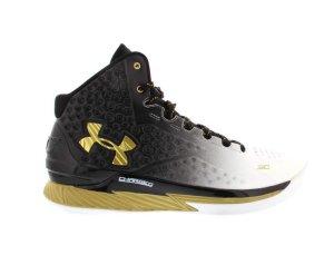 Under Armour UA Curry 1 MVP Black/Gold (1258723-009)