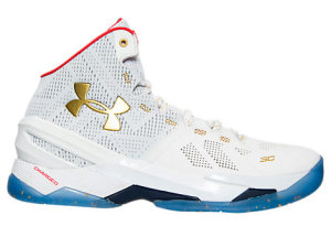 Under Armour UA Curry 2 All Star (2016) White/Red-Metallic Gold (1259007-102)