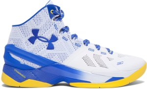 Under Armour UA Curry 2 Dub Nation Home White/Royal-Taxi (1259007-104)