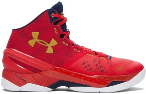 Under Armour UA Curry 2 Floor General Red/Academy-Gold (1259007-601)