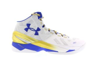 Under Armour UA Curry 2 Gold Rings White/Metallic Gold/Team Royal (1259007-107)