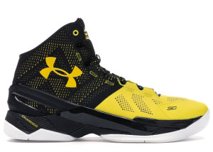 Under Armour UA Curry 2 Long Shot Black/Taxi-White (1259007-004)