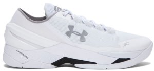 Under Armour UA Curry 2 Low Chef White/Silver (1264001-103)