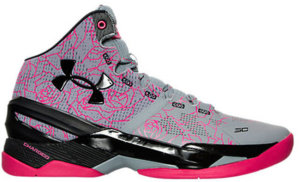 Under Armour UA Curry 2 Mothers Day Light Grey/Black – Pink (1259007-037)