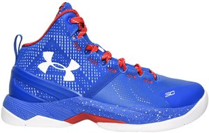 Under Armour UA Curry 2 Providence Road Royal/Red-White (1259007-401)