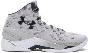 Under Armour UA Curry 2 Rainmaker Graystorm Aluminum/White/Stealth Grey (1259007-052)
