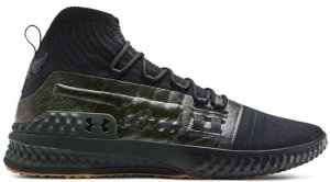Under Armour  Project Rock 1 Black Green Black/Green (3020788-002)