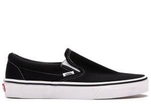 Vans  Classic Slip On Black Black (VN000EYEBLK)