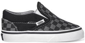 Vans  Classic Slip-On Checkerboard Pewter (TD) Black/Pewter (VN000LYHBPJ)