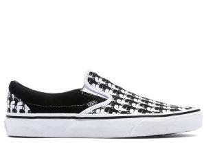 Vans  Classic Slip-On Karl Lagerfeld Black White Chain/Karl Quilt (VN0A38F7OEK)