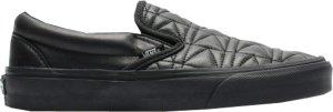 Vans  Classic Slip-On Karl Lagerfeld Quilt Black/Karl Quilt (VA38F7OEI)