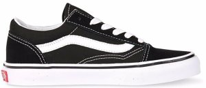 Vans  Old Skool Black White (PS) Black/White (VN000W9T6BT)