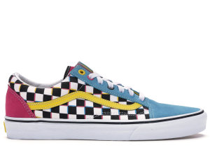 Vans  Old Skool Crazy Checks Multi Multi/White (VN0A38G1RJ9)