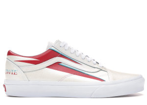 Vans  Old Skool David Bowie Aladdin Sane Cream/Red (VN0A38G1VIP)