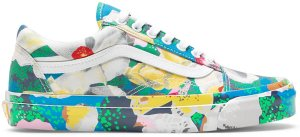 Vans  Old Skool KENZO Floral Yellow Floral Yellow/True White (VN0A4P3X01H)