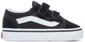 Vans  Old Skool V Black White (TD) Black/White (VN000D3YBLK)