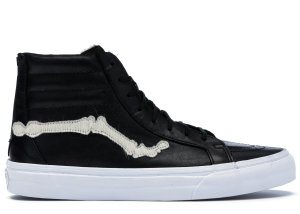 Vans  Sk8-Hi Blends Bones Pony Hair Black/White (VN000ZSJP9S)