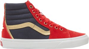 Vans  Sk8-Hi Marvel Captain Marvel (W) Red/Navy (VN038GEUBI)
