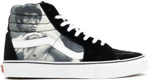 Vans  Sk8-Hi Supreme Bruce Lee (White) White/Black-Grey (VN099NANM)